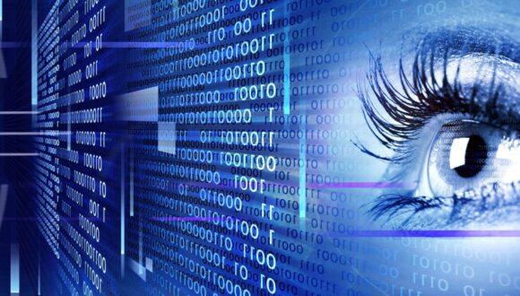 Cyber logs and human eye.